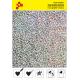 IDL796A Stříbrná Glam (Arch) nažehlovací fólie / iDigit