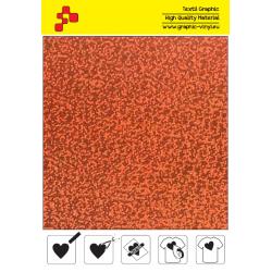 IDL734A Oranžová Glam (Arch) nažehlovací fólie / iDigit