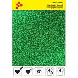IDL750A Zelená Glam (Arch) nažehlovací fólie / iDigit