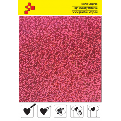 IDL736A Růžová Glam (Arch) nažehlovací fólie / iDigit