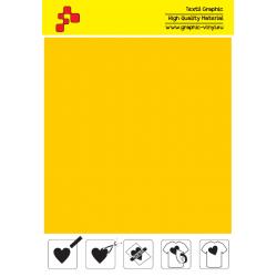 F720A Středně žlutá (Arch) Turbo flex nažehlovací fólie / B-flex