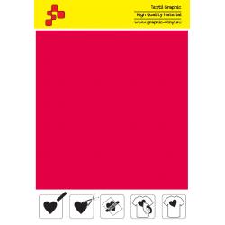 F732A Ohnivě červená (Arch) Turbo flex nažehlovací fólie / B-flex