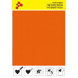 F734A Oranžová (Arch) Turbo flex nažehlovací fólie / B-flex