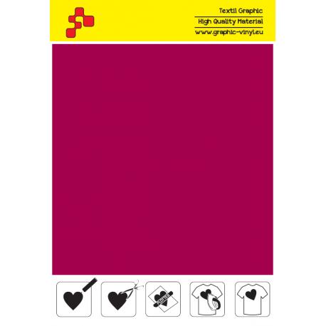 IDSF739A Sametově červená (Arch) Speed flex nažehlovací fólie / iDigit