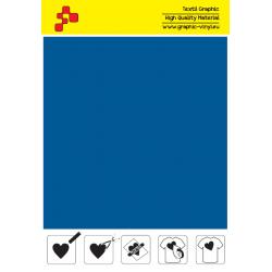 F740A Královská modrá (Arch) Turbo flex nažehlovací fólie / B-flex