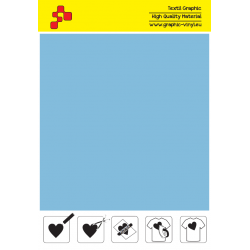 IDSF741A Práškově modrá (Arch) Speed flex nažehlovací fólie / iDigit
