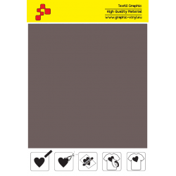 F795A Grafitová (Arch) TURBO FLEX  nažehlovací fólie / B-FLEX