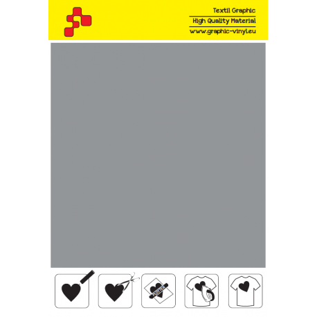 IDSF796A Stříbrná (Arch) Speed flex nažehlovací fólie / iDigit