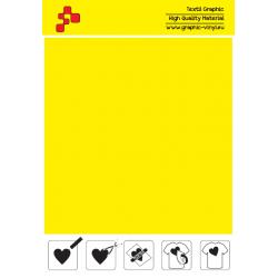 FFLUO20A Neonově žlutá (Arch) Turbo flex nažehlovací fólie / B-flex