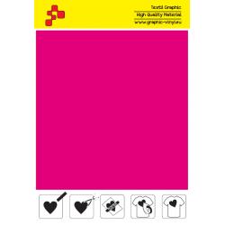 FF40A Neonově růžová (Arch) Turbo flex nažehlovací fólie / B-flex