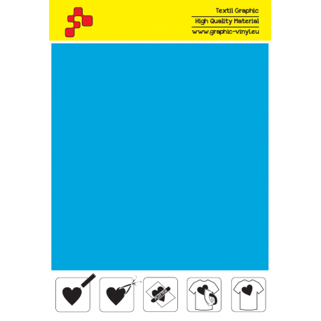 IDSFFLUO46A Neonově modrá (Arch) Speed flex nažehlovací fólie / iDigit