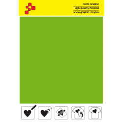 IDSFFLUO50A Neonově zelená (Arch) Speed flex nažehlovací fólie / iDigit