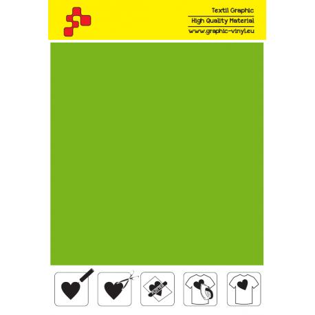 SFFLUO50A Neonově zelená (Arch) Turbo flex nažehlovací fólie / B-flex