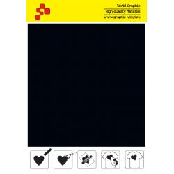 BF T710A Černá Fatty (Arch) nažehlovací fólie / B-FLEX