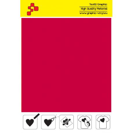 IDT730A Červená Fatty (Arch) nažehlovací fólie / iDigit