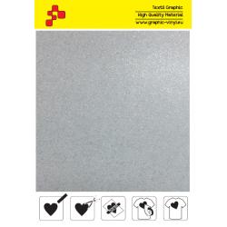 BF G700A Bílá Glitter (Arch) nažehlovací fólie / B-flex