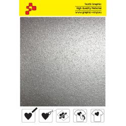BF G796A Stříbrná Glitter (Arch) nažehlovací fólie / B-flex