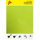 BF G728A Neonově žlutá Glitter (Arch) nažehlovací fólie / B-flex