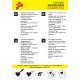 IDG728A Neonově žlutá Glitter (Arch) nažehlovací fólie / iDigit