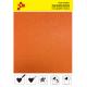 BF G734A Neonově oranžová Glitter (Arch) nažehlovací fólie / B-FLEX