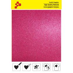 BF G736A Růžová Glitter (Arch) nažehlovací fólie / B-FLEX