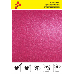 IDG736A Růžová Glitter (Arch) nažehlovací fólie / iDigit