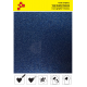 IDG740A Modrá Glitter (Arch) nažehlovací fólie / iDigit