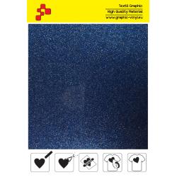 BF G740A Modrá Glitter (Arch) nažehlovací fólie / B-flex