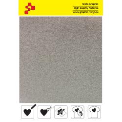 434A Glitterová bílá (Arch) nažehlovací fólie / Poli-flex