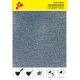 436A Glitterová modrá (Arch) nažehlovací fólie / Poli-flex