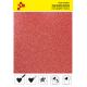 IDP438A Glitterová červená (Arch) nažehlovací fólie / iDigit