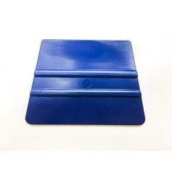 Měkká plastová lichoběžníková špachtle modrá