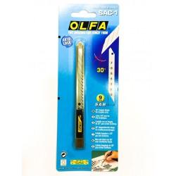 Kovový nůž 30° s automatickým zajištěním / iDigit