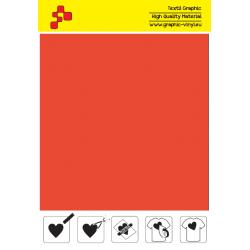 IDSF733A Mrkvově oranžová (Arch) Speed flex nažehlovací fólie / iDigit