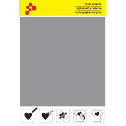 ID T796A Stříbrná Fatty (Arch) nažehlovací fólie / iDigit