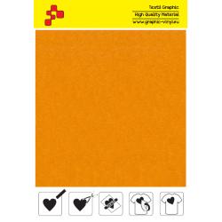 IDVCE03A Slunečně žlutá (Arch) semišová nažehlovací fólie / iDigit