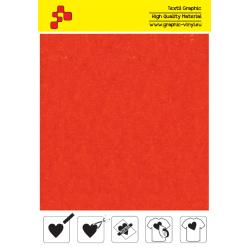 IDVCE12A Oranžová (Arch) semišová nažehlovací fólie / iDigit