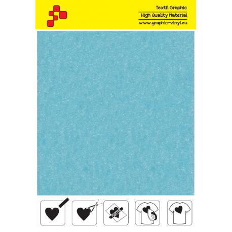 IDVCE15A Nebesky modrá (Arch) semišová nažehlovací fólie / iDigit