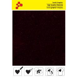 IDVCE17A Bordeaux (Arch) semišová nažehlovací fólie / iDigit