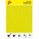 IDVCPNYA Neonová žlutá (Arch) semišová nažehlovací fólie / iDigit