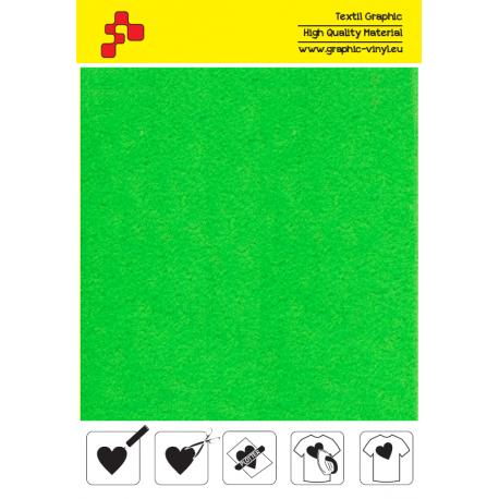 IDVCPNGA Neonová zelená (Arch) semišová nažehlovací fólie / iDigit