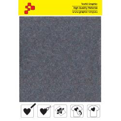 IDVCE11A Chladně šedá (Arch) semišová nažehlovací fólie / iDigit