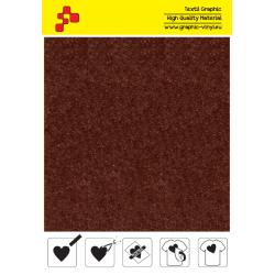 IDVCE22A Hnědá (Arch) semišová nažehlovací fólie / iDigit