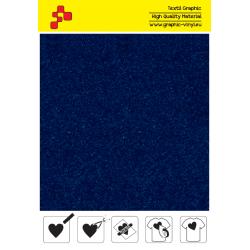 IDVCE09A Královská modrá (Arch) semišová nažehlovací fólie / iDigit