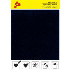 IDVCE07A Námořnická modrá (Arch) semišová nažehlovací fólie / iDigit