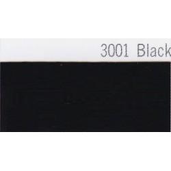 3001 Černá plotrová fólie / Plotr Black / lesk