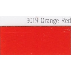 3019 Oranžově červená plotrová fólie / Plotr Orange Red / lesk