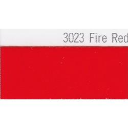 3023 Ohnivě červená plotrová fólie / Plotr Fire Red / lesk