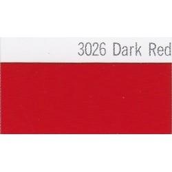 3026 Tmavě červená plotrová fólie / Plotr Dark Red / lesk