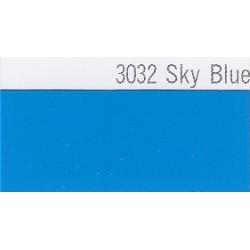 3032 Nebesky modrá plotrová fólie / Plotr Sky Blue / lesk